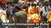 Ganapati immersion ceremony carried out peacefully in Pune barring a few incidents