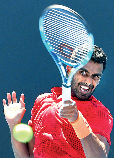Rigours of five-setters a challenge for Prajnesh Gunneswaran as Francis Tiafoe waits