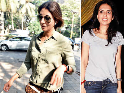 Shweta Bachchan Nanda, Monisha Jaising go on a shopping spree