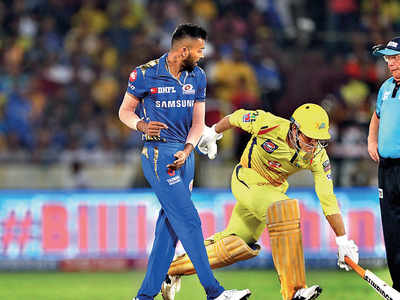 If MS Dhoni was not given the controversial run out, would CSK be able to beat Mumbai Indians in the IPL final on Sunday?