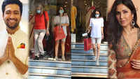 Katrina Kaif -Vicky Kaushal wedding: Actress' mom and sister Isabelle Kaif papped shopping for ethnic wear