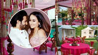 First pics of Varun-Natasha's mandap and wedding venue decor go viral