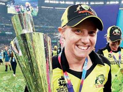 T20 World Cup: Alyssa Healy adds to family's cup cabinet