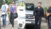 Shraddha Kapoor, Varun Dhawan spotted outside dance studio in Mumbai
