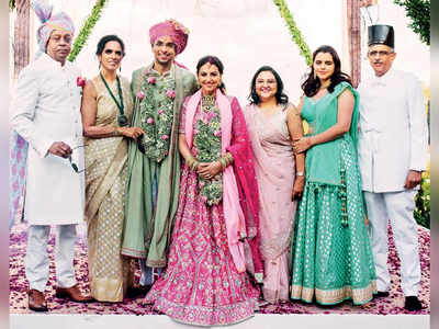 Anita Dongre's son Yash gets married to Benaisha Kharas