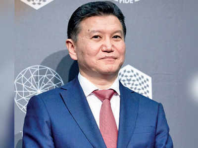 Indian chess officials back 'sanctioned' FIDE head Kirsan Ilyumzhinov