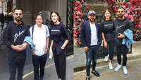 Anushka Sharma and Virat Kohli twin in black as they enjoy another day out in London
