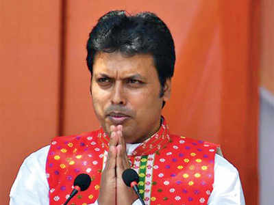 What is the funniest quote till date of the many made by Tripura CM Biplab Deb?