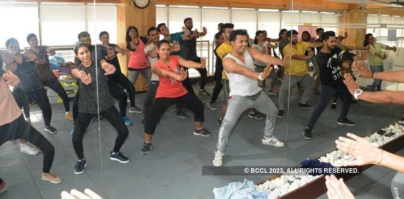 Dance workshop a rage in Ahmedabad