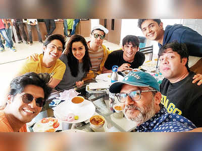 Sushant Singh Rajput and Shraddha Kapoor head back to college for Chhichhore