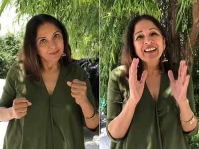 Neena Gupta reveals she had to learn 'sign language' to communicate with husband amid lockdown