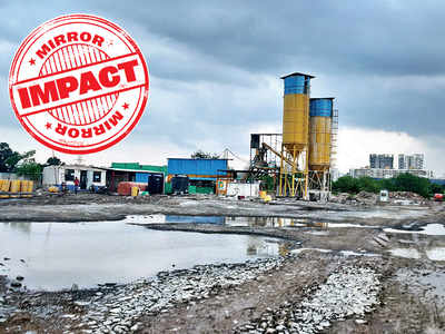 Balewadi concrete plant shuts after locals complain of respiratory issues