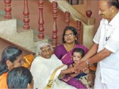 105-year-old woman from Kerala appears for fourth standard equivalency examination