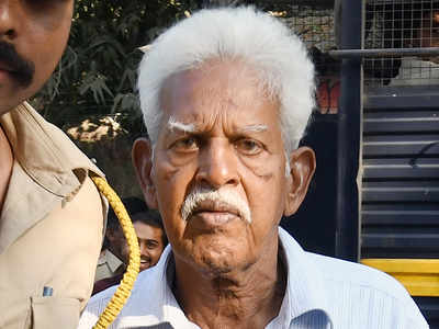 Can Varavara Rao's family see him, HC asks govt
