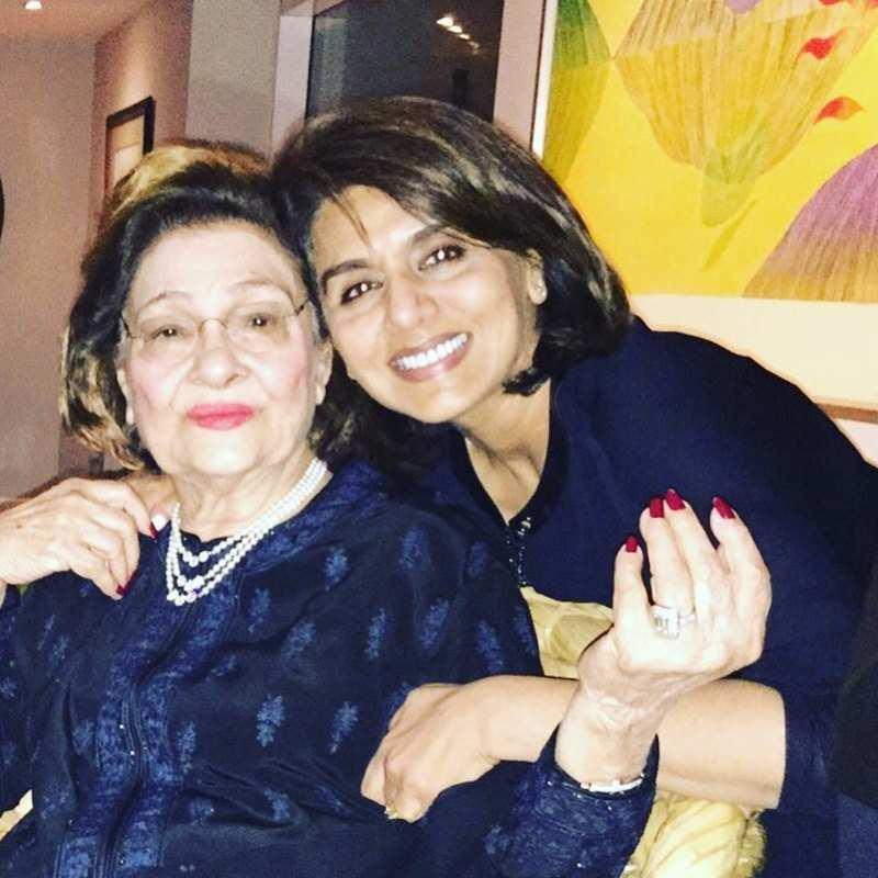 Neetu Kapoor misses her 'best friend' Krishna Raj Kapoor