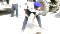 Inspirational: Punjab traffic cop who fills road potholes