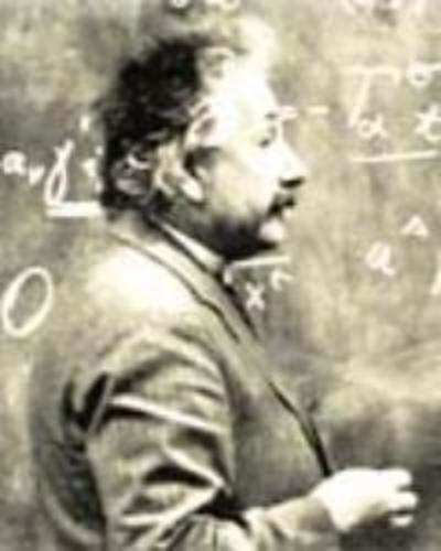 Einstein can be entertaining