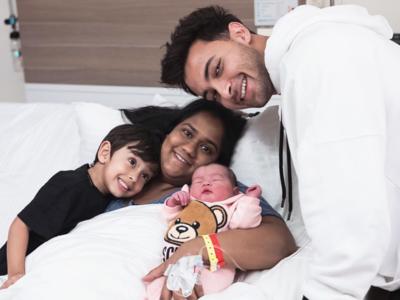 Aayush Sharma shares first photos of daughter Ayat
