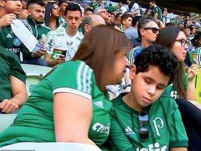 Brazilian mother narrates live matches to blind son