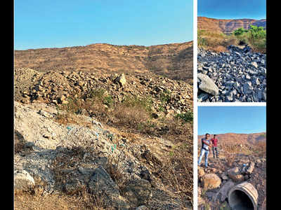 Locals want debris removed to revive lake in Yewalewadi