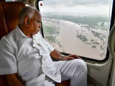 Karnataka floods: State will be back to normal situation in four to six days, says CM BS Yediyurappa