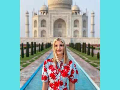 I appreciate the warmth of the Indian people: Ivanka Trump on Taj Mahal photoshopped images