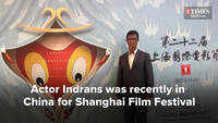 Indrans at Shanghai Film Fest