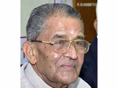 Veteran Congress leader MV Rajasekharan passes away in Bengaluru