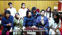 Pankaj Udhas, Rekha Bharadwaj, Shilpa Rao and other celebrities at 'Khazana Ghazal Festival'