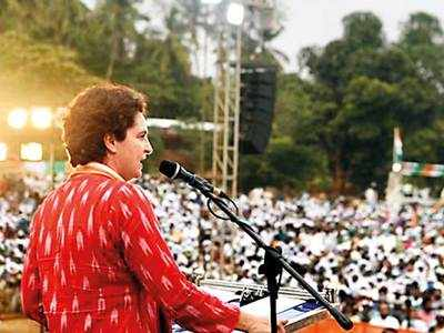 Priyanka Gandhi halts campaign as husband COVID +ve