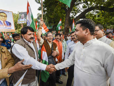 In 'peace march' attended by BJP's Kapil Mishra, 'shoot the traitors' slogans raised
