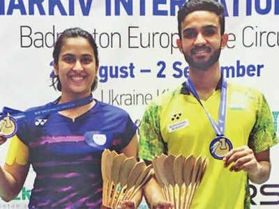 Anoushka Parikh wins gold at Ukraine badminton tournament