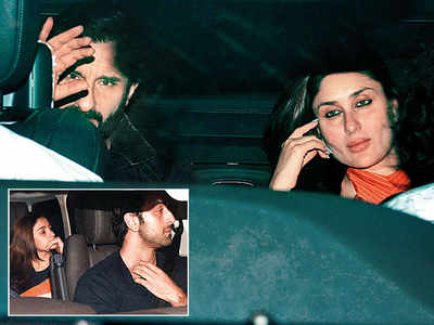 Kareena Kapoor Khan, Vicky Kaushal and Katrina Kaif among others attend Karan Johar's mystery dinner