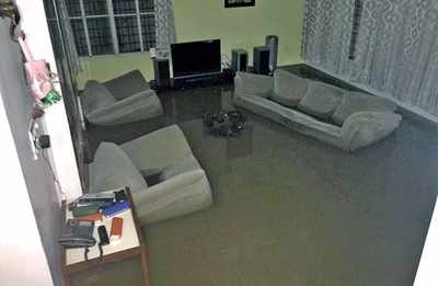 Bengaluru Rains: In Koramangala, in came the out