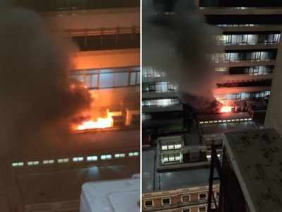 Fire breaks out at Sir H N Reliance Hospital in Grant Road; no injuries reported