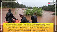 Coastal Karnataka faces the wrath of rains, as many areas were flooded