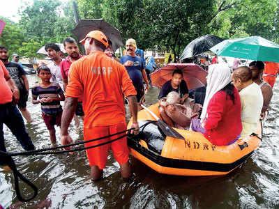 Incessant downpour kills 13 in Bihar; 79 dead in UP