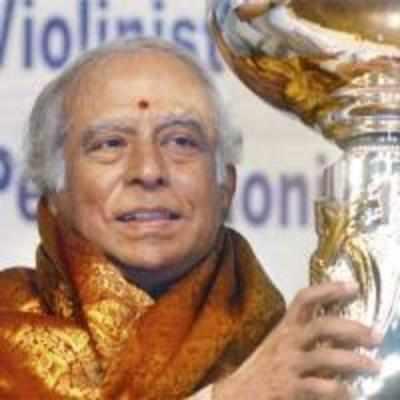 Carnatic violinist Lalgudi G Jayaraman passes away