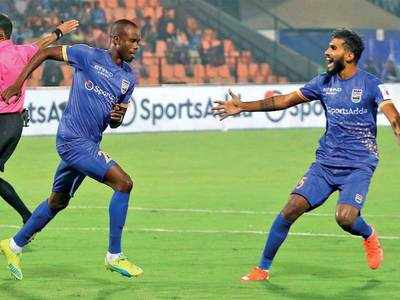 Modou Sougou becomes Mumbai City FC's 13th goalscorer of the season