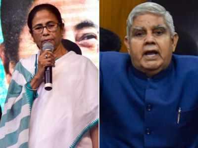 CM Mamata Banerjee invites Governor Jagdeep Dhankhar for Kali Puja celebration