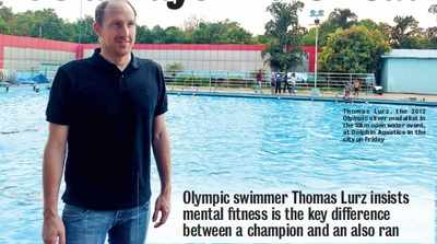 Olympic swimmer Thomas Lurz insists mental fitness is key difference between champion and also-ran