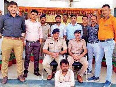 Jharkhand man arrested with 12.60 kg of ganja