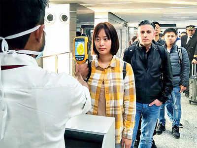 Coronavirus vigilance upped at airport