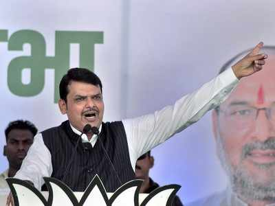 Now, CM Devendra Fadnavis says those political leaders seeking proof of Balakot airstrike should be attached to missile fired on Pakistan