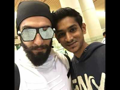 Ranveer Singh pays his respects to a young fan who died