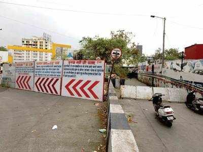 Reopen Ramwadi underpass: Locals