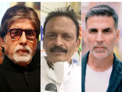 Mumbai Congress chief shoots letter to Amitabh Bachchan, Akshay Kumar; questions silence on rising fuel prices