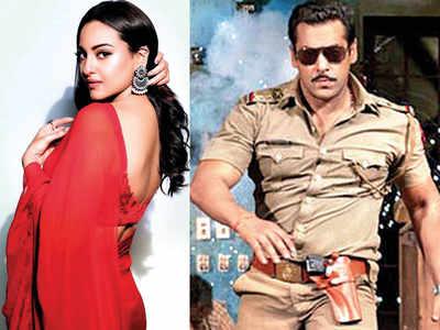 Salman Khan and Sonakshi Sinha kick off the second schedule of Dabangg 3 in Mumbai today