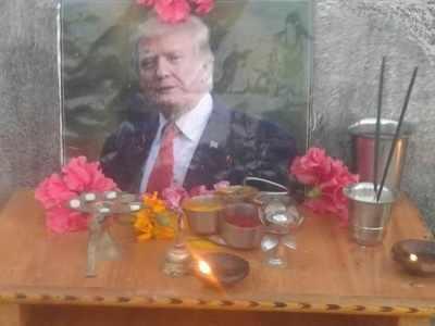 Telangana: This Donald Trump fan worships him like a God