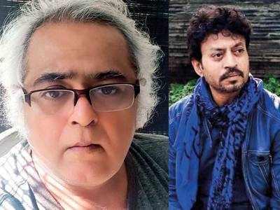 Hansal Mehta: Rajkummar Rao broke the news of Irrfan Khan's passing away when he and Patralekhaa were wishing me on my birthday